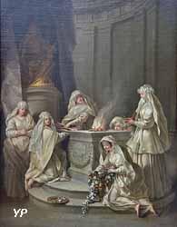 Vestales (Jean Raoux, 1728)