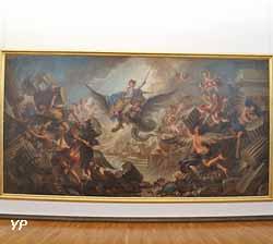 La Destruction du palais d'Armide (Charles Antoine Coypel)