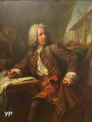 Portrait d'un architecte (Jean-François Restout, 1734)