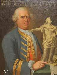 Portrait de Barthélémy Guibal (Jean Girardet, 1756)