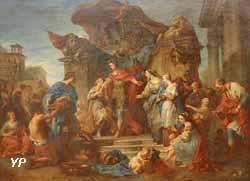 La Continence de Scipion (François Lemoine, 1727)