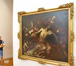 Le Christ au tombeau (Valerio Castello)