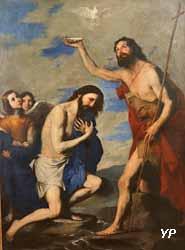 Le baptême du Christ (Jusepe de Ribera, 1643)