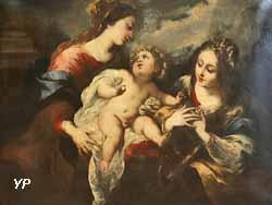 Le mariage mystique de sainte Catherine (Bartolomeo Biscaino)