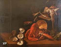 Nature morte, écrevisse et poissons (Giuseppe Rocco)