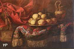 Nature morte au tapis et cédrats (Francesco Maltese)