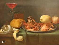 Crabes, crevettes, citrons (Jacob Fopsen Van Es)
