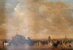 Les Patineurs (Jan Josephsz Van Goyen, 1649)