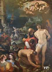 Les Apprêts du martyre de saint Sébastien (Wenceslas Coebergher, 1599)