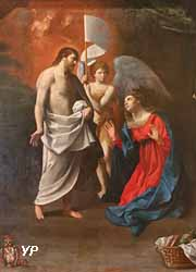 Le Christ ressuscité apparaissant à sa mère (Guido Reni)