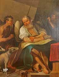 Isaac envoie Esaü à la chasse (Johann Ulrich Loth)