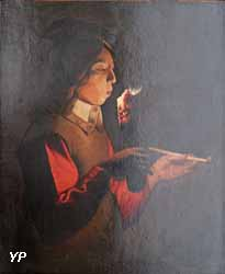 Le Souffleur à la pipe (d'après Georges de La Tour)