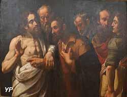 L'Incrédulité de saint Thomas (Giuseppe Vermiglio)