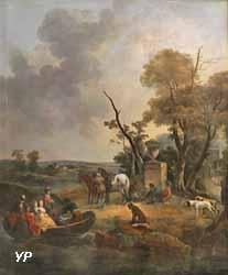 Promenade en barque (Francesco Giuseppe Casanova)