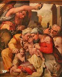 Sainte Famille avec saint Jean-Baptiste et sainte Elisabeth (Nosadella)
