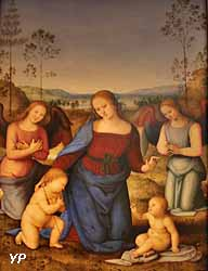 Vierge à l'Enfant, saint Jean et deux anges (Pérugin)