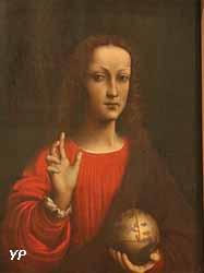 Le Sauveur du Monde (École de Léonard de Vinci)