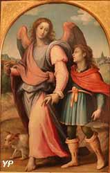 Tobie conduit par l'ange (Francesco Sogliani)