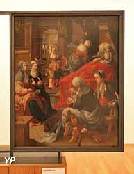 La Naissance de la Vierge (Noël Bellemare)