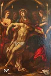 Piéta avec des anges (Federico Zuccaro)