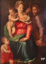Sainte Famille avec le petit saint Jean-Baptiste (Jacopino del Conte)