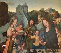 Le mariage mystique de sainte Catherine (Joos Van Cleve, 1514)