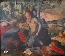 Saint Jérôme dans le désert (Maître du Fils prodigue)