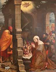 L'Adoration des bergers (anonyme)