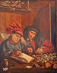 Les Compteurs d'argent (Marinus van Roejmerswalen)