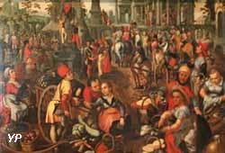 Marché avec l'Ecce Homo (Joachim Beuckelaer)