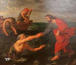 Jésus marchant sur les eaux (Pierre-Paul Rubens)