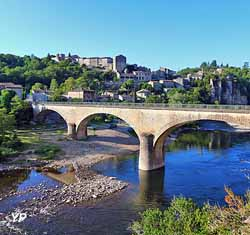 L'Ardèche au pont de Balazuc