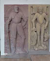 Église Notre-Dame-des-Sept-Douleurs - Dalles funéraires Lazare et Guillaume de Schwendi
