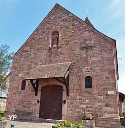 Chapelle du pèlerinage Saint-Félix et Sainte Régule et tombeaux