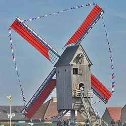 Moulin Spinnewyn ou moulin de la Victoire (Office de Tourisme des Hauts de Flandre)