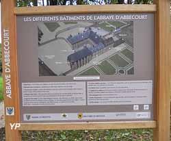 Ruines de l'abbaye royale Notre-Dame d'Abbecourt (association Histoire d'Orgeval)