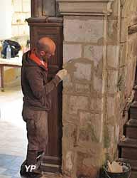 Restauration d'un pilier