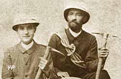Gabrielle et Joseph Vallot (Médiathèque Confluence)