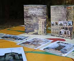 Timeline sur les versants du Lodévois et Larzac