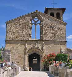 Chapelle de Terrebasse (commune de Ville sous Anjou)