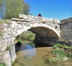Vieux Pont de Lissart (Asso. Patrimoine de Cazillac sur Barguelonne)