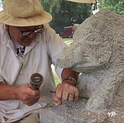 Village sculpté de Masgot