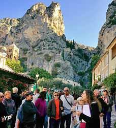 Visite guidée de Moustiers-Sainte-Marie