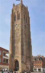 Tour-clocher de l'église Saint-Éloi