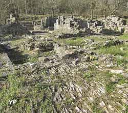 Ruines du Monastier