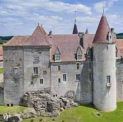Château de Châteauneuf (Ch. Fouquin-Région Bourgogne-Franche-Comté)
