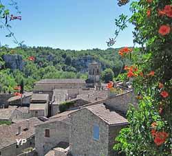Village de Labeaume (Association Dolmens et patrimoine de Labeaume)