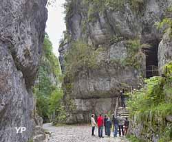 Site historique des grottes de Saint Christophe (SCALPHOTO)