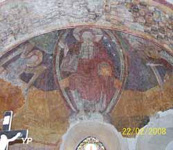 Prieurés du Villars - choeur de la nef priorale