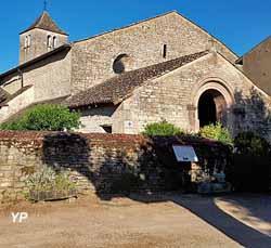 Prieurés du Villars - choeur de la nef priorale (B. Vinot)